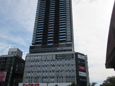 ビックカメラが出店しているビッグフロントの住居部は514戸