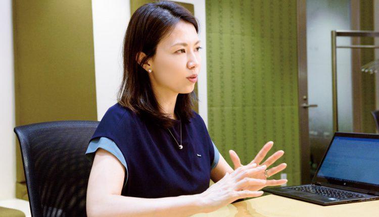 日本マイクロソフト コンシューマー&デバイス事業本部Windowsデバイス&Office戦略本部業務執行役員本部長の中井陽子さん