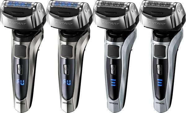 Hitachi-announces-Rotary-shaver-4model_top