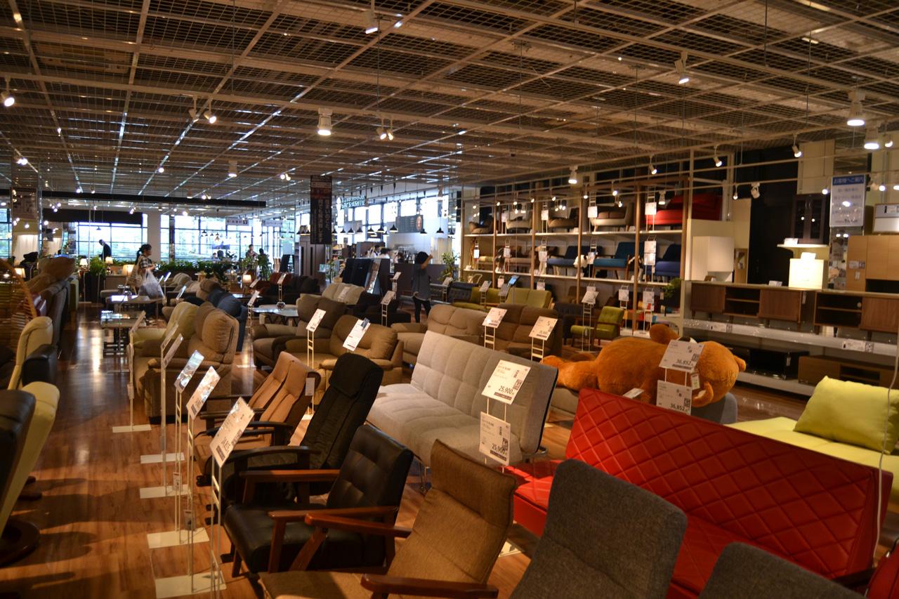 インテリアリフォームYAMADA前橋店は2017年6月、ヤマダ電機の新業態店舗1号店としてオープン
