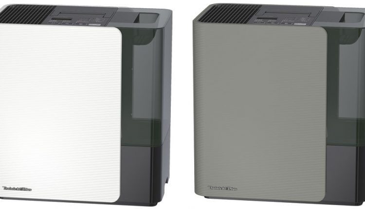 HD-LX1019はサンドホワイトとモスグレーの2色展開。どのような部屋にも合うデザインだ