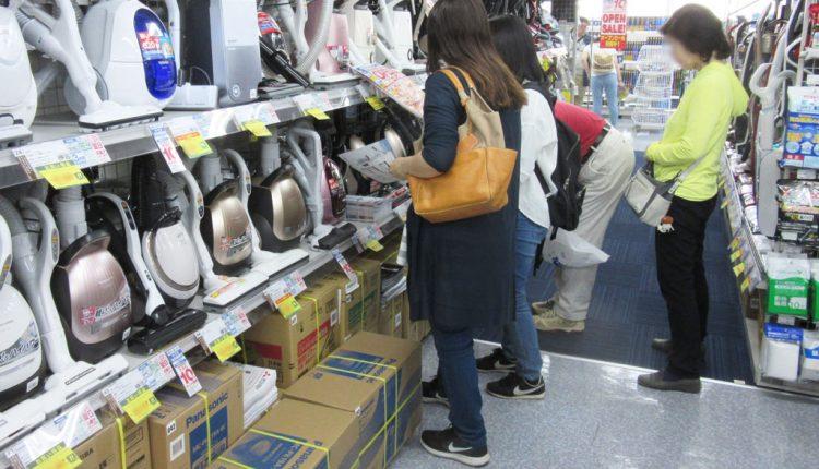 需要反動減の期間は単価の低い商品でも接客をして次回の来店につなげる
