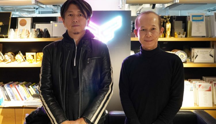 BIRDMAN 代表 築地ロイ良氏(左)、オムニバス・ジャパン 菊池昌樹氏(右)