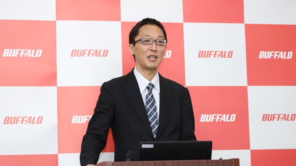 バッファロー コンシューママーケティング部 部長 中村 智仁