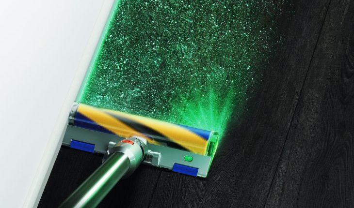 Dyson V12 Detect Slim Total Clean_Laser Slim Fluffyクリーナーヘッド
