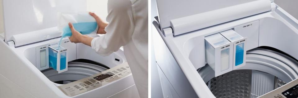 ハイセンス,洗剤,自動投入,DG10A,柔軟剤,タンク