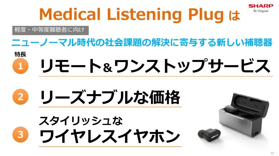 シャープ,補聴器,ワイヤレス,ニューノーマル,